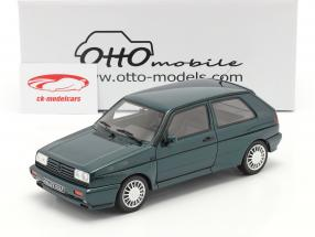 Volkswagen VW Golf G60 Rallye Byggeår 1990 mørkegrøn 1:18 OttOmobile
