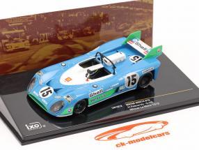 Matra MS670 #15 gagnant 24h LeMans 1972 Pescarolo, Hill 1:43 Ixo