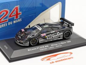 McLaren F1 GTR #59 Vinder LeMans 1995 1:43 Ixo