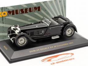 Daimler Double Six 50 År 1931 schwarz / sort 1:43 Ixo