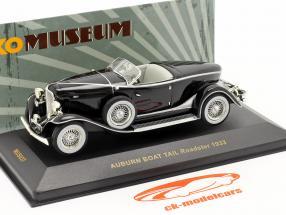 Auburn Boat Tail Roadster Bj. 1933 Schwarz / black 1:43 Ixo