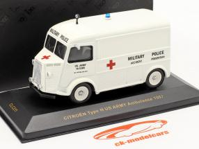 Citroen Type H anno 1967 US Army Ambulance 1:43 Ixo
