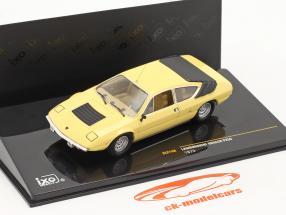 Lamborghini Urraco P250 1973 1:43 Ixo light yellow