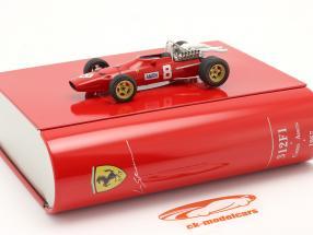 Chris Amon Ferrari 312 N° 8 GP du Nürburgring Formule 1 1967 1:43 Ixo