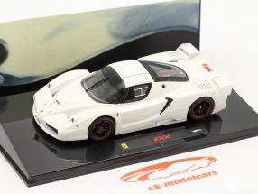 Ferrari FXX hvid 1:43 HotWheels Elite