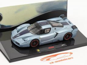 Ferrari FXX blu 1:43 HotWheels Elite
