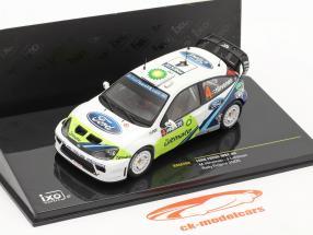 #4 Ford Focus WRC Rally de Finlandia 2005 1:43 Ixo