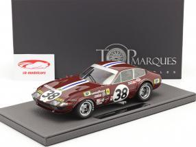 Ferrari 365 GTB/4 Daytona #38 9e 24h LeMans 1972 1:18 TopMarques