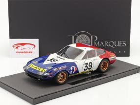Ferrari 365 GTB/4 Daytona #39 5. plads 24h LeMans 1972 1:18 TopMarques