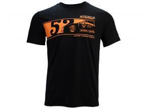 T-Shirt Kremer Racing Jägermeister Porsche 935 K3 nero