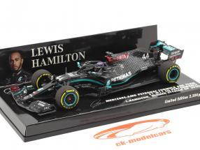 L. Hamilton Mercedes-AMG F1 W11 #44 vinder Steiermark GP formel 1 Verdensmester 2020 1:43 Minichamps