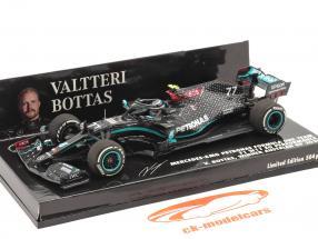 V. Bottas Mercedes-AMG F1 W11 #77 Winner Austrian GP formula 1 2020 1:43 Minichamps
