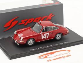 Porsche 911T #147 Rallye Monte Carlo 1965 Linge, Falk 1:43 Spark