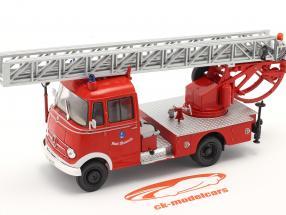 Mercedes-Benz L319 vigili del fuoco Walsrode Con Scala per giradischi rosso 1:43 Altaya