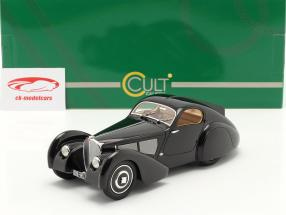 Bugatti genere 51 Dubois Coupe 1931 nero 1:18 Cult Scale