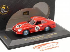 DB Panhard N° 59 HBR4 24h LeMans 1959 Faucher / Laffargue 1:43 Ixo
