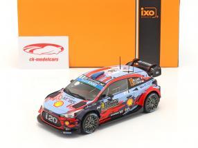 Hyundai i20 Coupe WRC #19 Cuarto Rallye Monte Carlo 2020 Loeb, Elena 1:24 Ixo