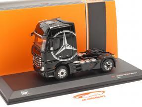Mercedes-Benz Actros MP4 Camion Anno di costruzione 2012 nero 1:43 Ixo