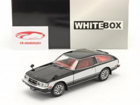 Toyota Celica XX RHD Año de construcción 1978 negro / plata 1:24 WhiteBox
