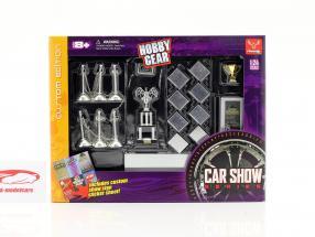 Car Show Set 1:24 Hobbygear