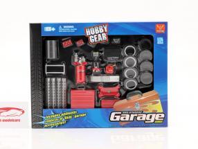Repair Garage Set 1:24 Hobbygear