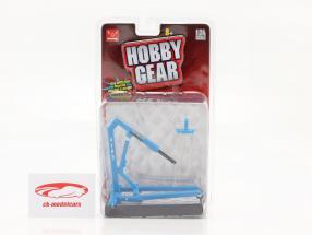 Motore sollevamento blu 1:24 Hobbygear