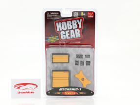Mechanic Set #1 1:24 Hobbygear