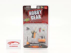 mecânico Set #2 1:24 Hobbygear