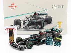 L. Hamilton Mercedes-AMG F1 W11 #44 Verdensmester Kalkun GP F1 2020 1:18 Spark