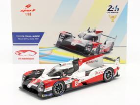 Toyota TS050 Hybrid #8 Vencedora 24h LeMans 2020 Buemi, Nakajima,Hartley 1:18 Spark