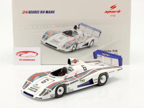 Porsche 936/78 #6 2do 24h LeMans 1978 Wollek, Barth, Ickx 1:18 Spark
