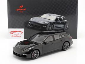 Porsche Panamera GTS Sport Turismo Anno di costruzione 2018 nero 1:18 Spark