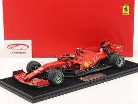 Charles Leclerc Ferrari SF1000 #16 pavo GP fórmula 1 2020 1:18 LookSmart