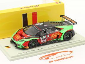 Lamborghini Huracan GT3 #666 24h Spa 2016 Barwell Motorsport 1:43 Spark