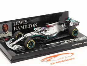 L. Hamilton Mercedes-AMG F1 W11 #44 Launch Spec F1 Champion du monde 2020 1:43 Minichamps