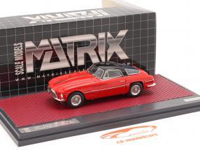 Ferrari 250 Europa Coupe Vignale 1954 red / black 1:43 Matrix