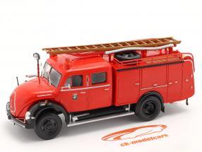 Magirus Deutz Mercur TLF 16 Feuerwehr Madrid rot 1:43 Altaya