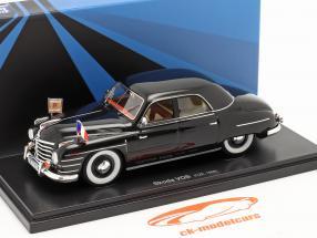 Skoda VOS Government special vehicles Czechoslovakia 1948 black 1:43 AutoCult