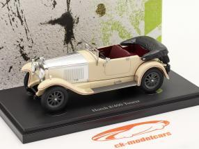 Horch 8/400 Tourer Année de construction 1930 Ivoire / argent 1:43 AutoCult