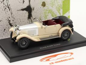 Horch 8/400 Tourer year 1930 ivory / silver 1:43 AutoCult