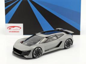Audi PB18 e-tron Concept Car 2018 グレー と ショーケース 1:18 AutoCult