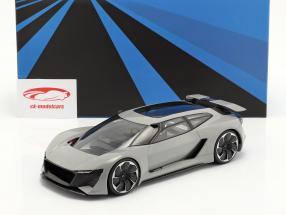 Audi PB18 e-tron Concept Car 2018 Grijs Met Showcase 1:18 AutoCult