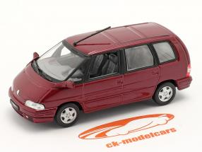 Renault Espace bouwjaar 1991 malaga rood 1:43 Norev