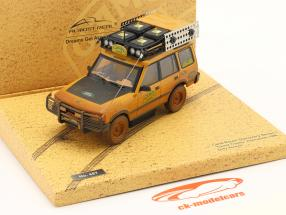 Land Rover Discovery Camel Trophy Kalimantan 1996 Dirty Version 1:43 Almost Real