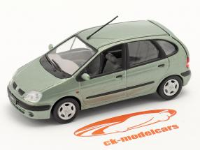 Renault Scenic Baujahr 1999 grüngrau metallic 1:43 Norev