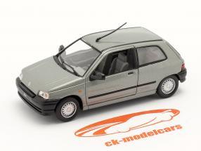 Renault Clio Ano de construção 1990 prata metálico 1:43 Norev