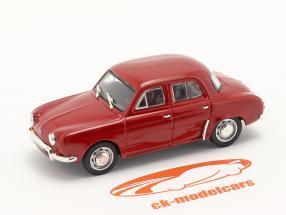 Renault Dauphine bouwjaar 1956-1968 donkerrood 1:43 Norev