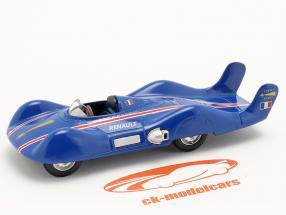 Renault Etoile Filante Speed Record Car 1956 blå 1:43 Norev