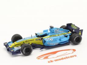 Fernando Alonso Renault R26 #1 formule 1 Wereldkampioen 2006 1:43 Norev