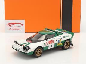 Lancia Stratos HF #7 Rally San Remo 1975 Pinto, Bernacchini 1:18 Ixo